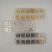 Wholesale hot sale Fasteners Hardware base accessories one box mm Metal material gold silver colors including washers and some harewares