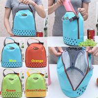 cooler pack - New Arrivals Outdoor Lunch Bag Box Cool Thermal Handbag Food Drinks Holder Stuff Sacks Packs Canvas Size CM BX156