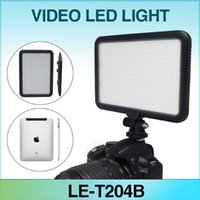 Wholesale Mcopus New Ultra Thin LED Video Light TTV Double Color Temperature for Canon Nikon DSLR Camera