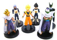 Wholesale Dragonball z set kids toys gift generation Japan dragonball hands do doll figures model furnishing articles doll DHL
