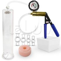 penis pump gauge - LeLuv Ultima Gauge Cover Vacuum Penis Pump w Donut C Rings quot x quot