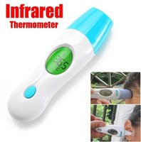 Wholesale 4 in Infrared Thermometer For Adult Baby Infant Health Care Monitor LED Display Body Forehead Ear Multifunctional Termometer