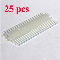 Wholesale Price mmx200mm Clear Glue Adhesive Sticks For Hot Melt Gun Car Audio Craft transparent For Alloy Accessories