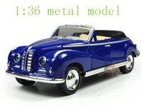 antique convertible cars - The new alloy car models classic children s toy pull back antique convertible classic car