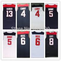 basketball jersey uniform - Kyrie Irving Team USA Basketball Jersey Jersey Kevin Durant USA Basketball Stephen Curry Jersey Uniform Shirt