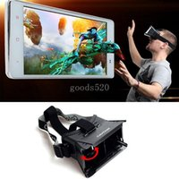 3d movie - Colorcross II Head Mount Plastic VR Virtual Reality D Glasses With Magnet Google Cardboard for D movie video games