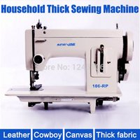 Wholesale SEW LINE RP Household sewing machine fur leather fell clothes thicken sewing machine Thick fabric material sewing machine