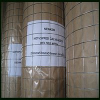 Wholesale Hot dipped Galvanized Welded Mesh mm mm mm m With High Quality and Lowest Price Iron Wire Material