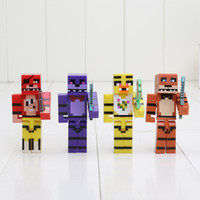 Wholesale set FNAF Five Nights At Freddy s Building Blocks Toys Action Toy Five Nights At Freddy Figures For Gift