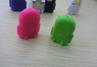 android robot usb - Micro usb to USB Android robot shape for OTG adapter for smartphone Micro OTG cable Micro OTG adapter