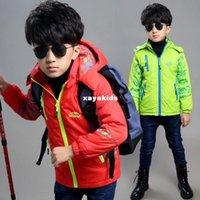 american households - Spring xayakids Kids boys and installed new coat coat children children thick jacket households outside