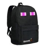 Wholesale Minecraft Backpacks School bags Minecraft Bag Minecraft Creeper Travel Bags