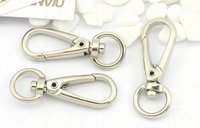 Wholesale Key Rings Lobster Clasps Swivel Trigger Clips Snap Hooks Keychain Key Ring