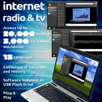 Wholesale Internet TV Radio Player Dongle USB Worldwide TV Stick Support Windows Mac OS CPU GHz or above