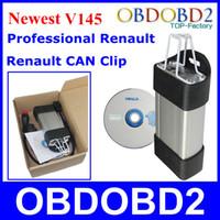 Súper Renault puede acortar la herramienta de diagnóstico V145 Renault Vehículos Soporta Multi-Idioma Renault escáner de DHL