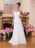 indian wedding dresses - 2015 SexyFree Shippng Indian Wedding Dresses Sashes Bridal Gowns Vestido De Noiva Chiffon In Stock DW1020