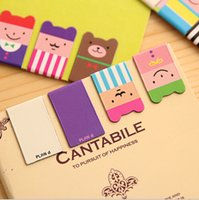 magnetic paper - Set of Birthday Gift Kawaii Magnetic Bookmarks Books Marker of Page Marcador de Livro Stationery Paperclip Office Supplies