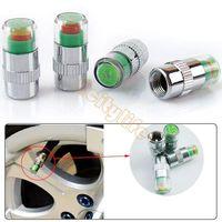 Wholesale Drop shipping bar PSI New car Tire Pressure Monitor Valve Stem Cap Sensor Indicator Color Eye Alert A2