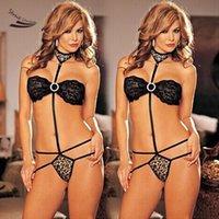 Wholesale 2016 Hot Sexy Lingerie Dress G string Bra Set One Size Sexy Sleepwear Underwear Erotic Lingerie