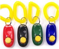 dog clicker - Pet Trainer dog training clicker strap for easy carrying tuning device