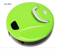 Wholesale NEW Household Intelligent Sweeper Robot LCD Low Noise mop gift for mother smart home appliance vacuum cleanerFree DHL