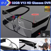 Cheap None 32GB FULL HD 1080P SPY Hidden Glasses Ca Best No 1080p Camera pccam1920*1080 30fp Video Recorde