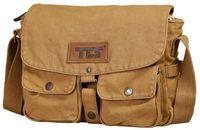 Wholesale TTS Cotton canvas bag men Bag Messenger Bag Shoulder Bag