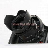 Wholesale 52mm Flower Petal Lens Hood For Can amp n SX30 SX40 Sigma Nik amp n D3100 D5000 D3000 D3200 D5200 mm