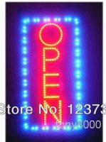 business open sign - Animated Motion Running LED Business OPEN SIGN On Off Switch Bright Light Neon