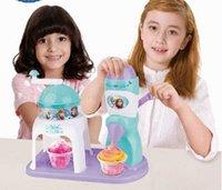 ice shaving machine - retai Christmas gift DIY FROZEN Children s ice ice cream machine Bingo suit Shaved ice machine Ice cream bingo machine to FOR children gift