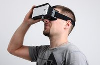 Wholesale ColorCross Virtual Reality Mobile Phone Head Mount D Glasses D Movies Games Fit For To inch Smartphone D5341A