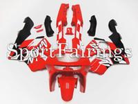 al por mayor 1997 kits del carenado zx6r-Carenados completos para Kawasaki Ninja ZX6R ZX-6R Año 94 95 96 97 1994 - 1997 Sportbike Kit de carenado de motocicleta ABS Carenados de carrocería Cowing Red