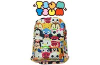 Wholesale Tsum Tsum Printing Backpack Cartoon School Bag Boys Girl School Backpacks For Kids School Supplies