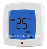 Wholesale weekly Programmable Touch Screen heating and cooling Room Thermostat room temperature controler
