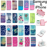 Cheap Vogue Design Card Wallet Body Leather Flip Stand Case Cover Shell For iPhone 6S 6S plus 5S 5C 4S Galaxy S7 edge Note 5 4 S5 S6 LG Sony HTC