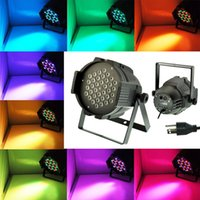 Wholesale LED par led dmx W RGB Par LED DMX CH Show Party Wedding Stage Lighting Outdoor lamp power bright stage lighting sportlight