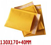 Wholesale 100pcs mm Kraft Bubble Envelope Craft Paper Wrap Bags