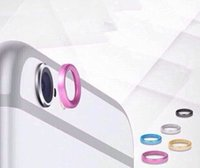Wholesale New Fashion Jewelry Rear Camera Glass metal lens protector Hoop Ring Guard Circle Case Cover for iPhone