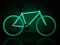 fixed gear - Strong C Luminous At Night Fixed Gear Bike Can Reversiblely Riding Can Pour Brake Freedom Movement Bicycle Many Colors