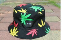 Wholesale 2015 New Style Sunhat Colorful Weed And Leaves Type Reversible Sunhat Fisherman Hat Hunting Outdoor Cap