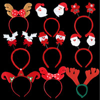 hat band - Christmas Party Hats Christmas Head Band Christmas decorations Gifts for Children The Party Must Snowman Deer Father Christmas