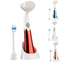 Wholesale 2015 New Brush Heads Toothbrush Care Electric Revolving Automatic Massager Waterproof