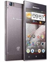 Precio de Lenovo k900-Original <b>Lenovo K900</b> 5.5 pulgadas de pantalla FHD 2 GB de RAM 16 GB de ROM Intel Atom Z2580 Dual Core 2.0GHZ Android 4.2 3G Smartphone de DHL EL ccsme
