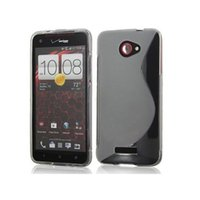 Wholesale New Soft Silicone TPU Gel S line Skin Back Cover Case For HTC Butterfly X920E Case