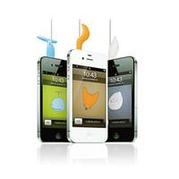 Wholesale Korea LineTail Fun Last dust plug headphone winder iphone6 animal tail shape