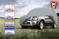 Wholesale Universal SUV car cover suitble for Porsche Volvo Benz Four layer Non woven fabrics buy one get one free