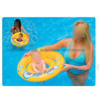 Cheap Baby Lovely Summer Beach Swimming Pool Accessories Infant Backrest Chair Lounge Swim Ring