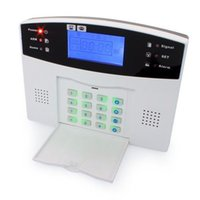 Wholesale LCD Wireless GSM AUTODIAL SMS Home HOUSE Burglar Security Alarm System Detector Sensor Call