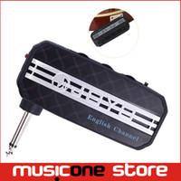 Wholesale New JOYO JA English Channel Guitar Sound Effect Mini Guitar Amplifier Pocket Amp w Headphone Output and MP3 input Mu0060