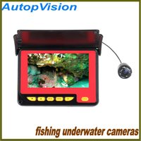 Wholesale 4 Inch M LCD TFT Underwater Fishing HD Camera System TV Lines Underwater Camera Record with IR LEDs